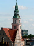 городок залы стоковое фото