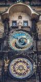 городок квадрата республики praha астрономических часов чехословакский старый Стоковые Фото
