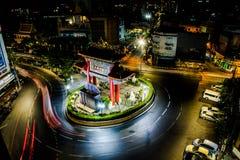 Городок Китая, Бангкок, Таиланд Принятое 24/3/2017 стоковые изображения