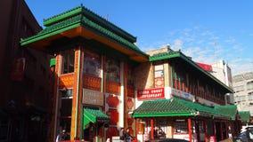 Городок Китая в Бирмингеме, Англии Стоковые Изображения RF