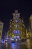 Городок Марбурга стоковое изображение