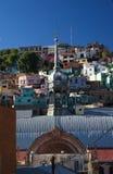 городок Мексики рынка guanajuato исторический Стоковые Изображения