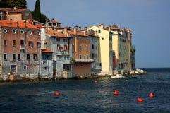 городок моря стоковые фотографии rf