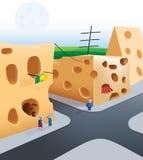 городок мыши бесплатная иллюстрация