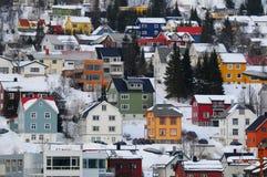 городок Норвегии стоковые фото