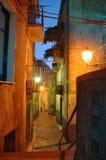 городок переулка итальянский старый стоковое изображение rf