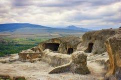 Городок пещеры в moutains Стоковое Изображение