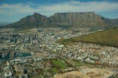 городок плащи-накидк Африки южный Стоковое фото RF