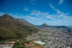 городок плащи-накидк Африки южный Стоковая Фотография RF