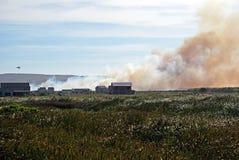 городок пожара плащи-накидк Стоковые Фотографии RF