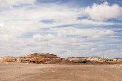 городок пустыни подземный стоковое фото