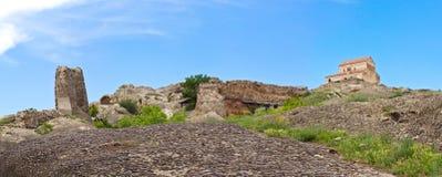 городок руин панорамы жилища подземелья доисторический стоковые фотографии rf