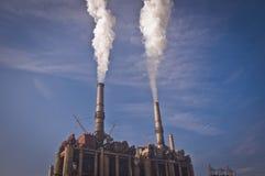 городок румына силы завода стоковые фото