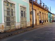 Городок Тринидада в Кубе, старом доме Стоковые Изображения