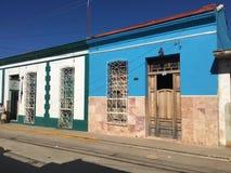 Городок Тринидада в Кубе, старом доме Стоковое Изображение RF