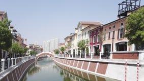 Городок Флоренса в Тяньцзине стоковое изображение