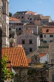 городок Хорватии dalmatian исторический hvar Стоковое фото RF