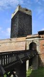городок Чешской республики cheb замока Стоковые Фото