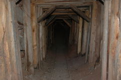 городок шахты привидения входа Аризоны Стоковое Изображение RF