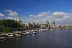 Городок 01 Дрезден старый Стоковое фото RF