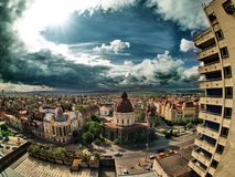городок Стоковая Фотография RF
