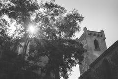 Городок Agde старый, Франция стоковые изображения rf