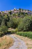 Городок Bonnieux - Провансаль Франция Стоковое Изображение