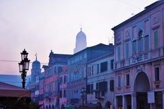 Городок Chioggia красивый в венето, также открыть как небольшая Венеция стоковое фото