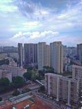 Городок Clementi, Сингапур стоковое изображение rf