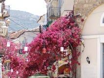Городок Colourfull стоковые изображения