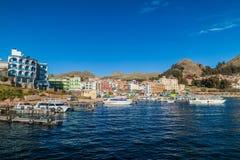 Городок Copacabana стоковые фотографии rf