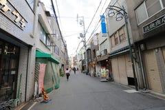 Городок Denden зона вдоль улицы Nipponbashi, Осака Стоковое Изображение RF