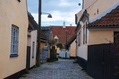 Городок Dragor в Копенгагене Дании стоковая фотография rf
