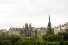городок edinburgh старый Шотландии Стоковое фото RF