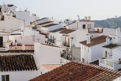 Городок Frigiliana старый Стоковые Фото