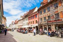 Городок Fussen старый, Германия стоковая фотография rf