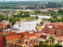 городок gdansk старый Стоковое Фото