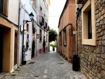 Городок Ibiza старый стоковые фото