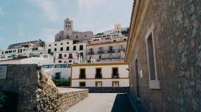Городок Ibiza Стоковые Фотографии RF