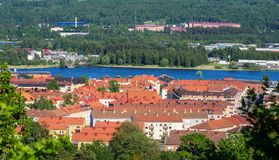 Городок Jonkoping Швеция стоковая фотография