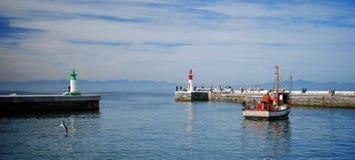 городок kalk гавани плащи-накидк залива Стоковое фото RF