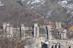 Городок Kapan в южной Армении стоковые изображения rf