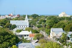 Городок Key West старый, ключи, Флорида, США Стоковое фото RF