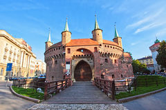 городок krakow старый Стоковые Изображения