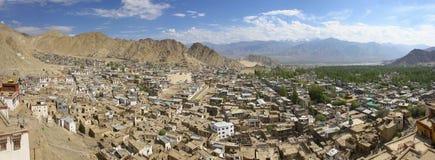 Городок Leh стоковое фото