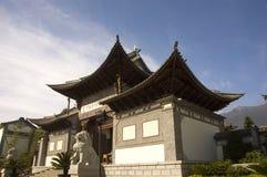 Городок Li jiang в фарфоре Стоковое Фото