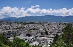 городок lijiang старый Стоковое фото RF