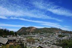городок lijiang старый Стоковая Фотография