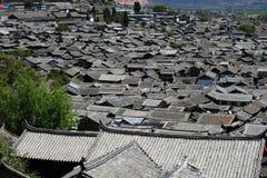 городок lijiang старый Стоковое Изображение RF