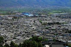городок lijiang старый Стоковая Фотография RF